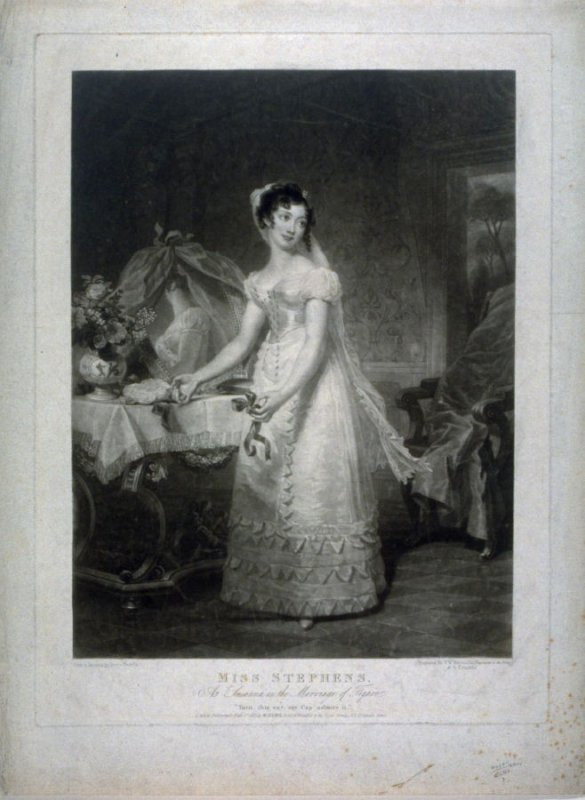 Miss Stephens as Susanna in the Marriage of Figaro