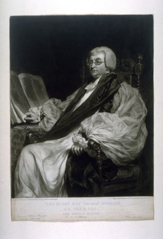 The Right Reverend Thomas Burgess, Lord Bishop of St. Davis