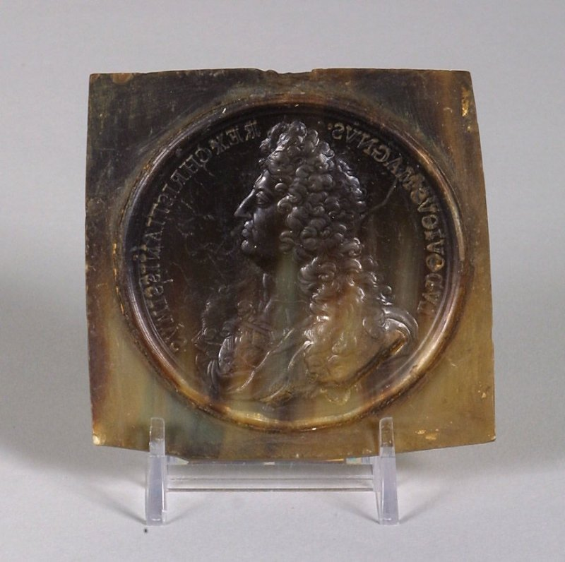 Seal with portrait of Louis XIV