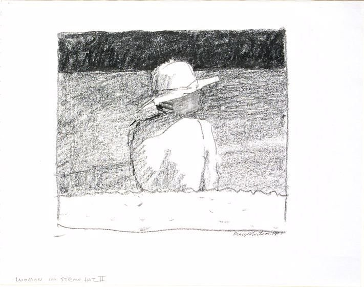 Woman in Straw Hat No. 2