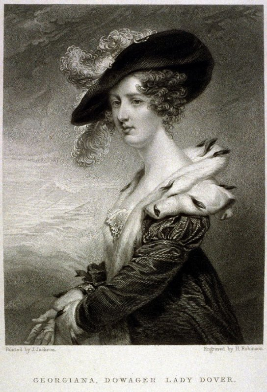 Georgiana, Dowager Lady Dover