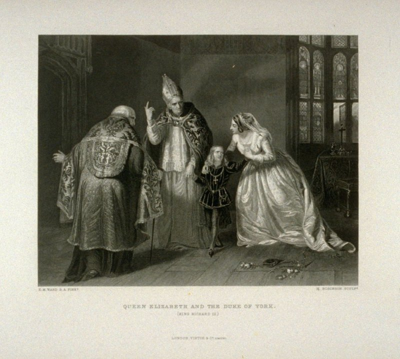 Queen Elizabeth and the Duke of York