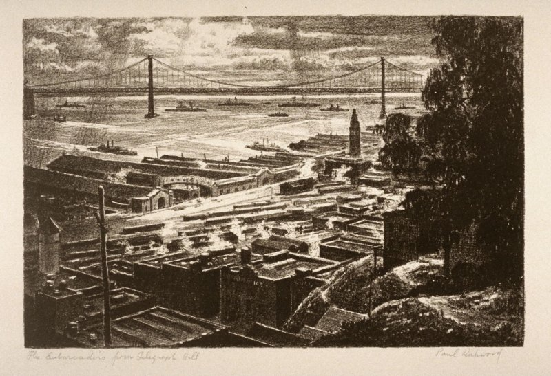 The Embarcadero from Telegraph Hill