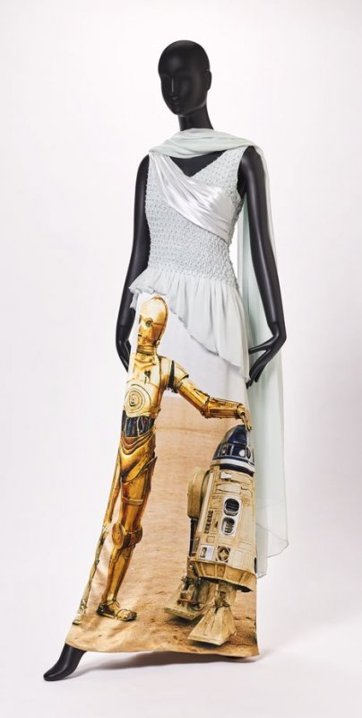 "Woman's gown, ""Star Wars"""