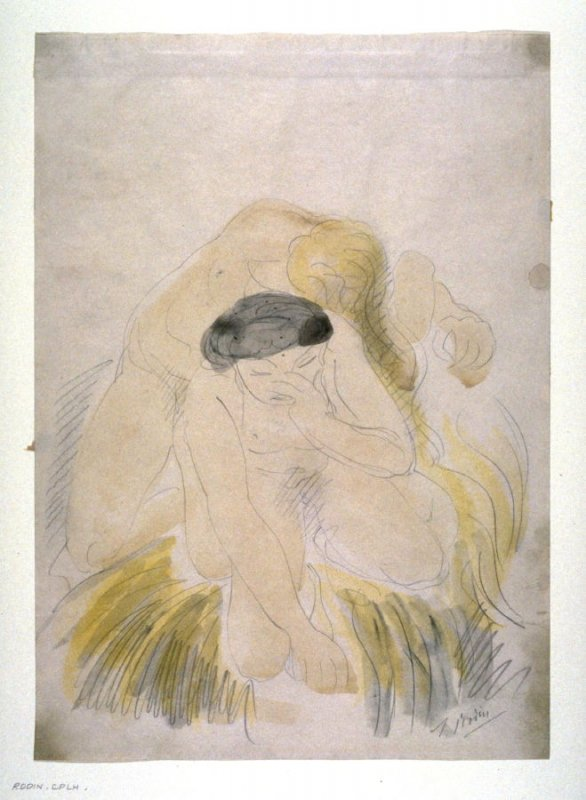 Seated Nude Bending Forward I (copy)