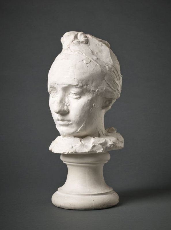 Head of Mademoiselle Camille Claudel