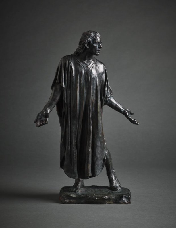 Jean de Fiennes (reduction of one of the Burghers of Calais)