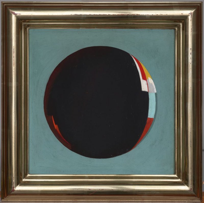 Untitled, (Abstraction within a Circle)