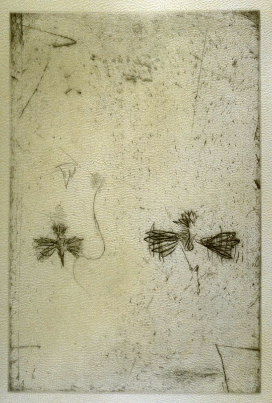 Untitled image printed on cover of the book Parts by Robert Creeley (San Francisco: Greve/Hine, 1993)