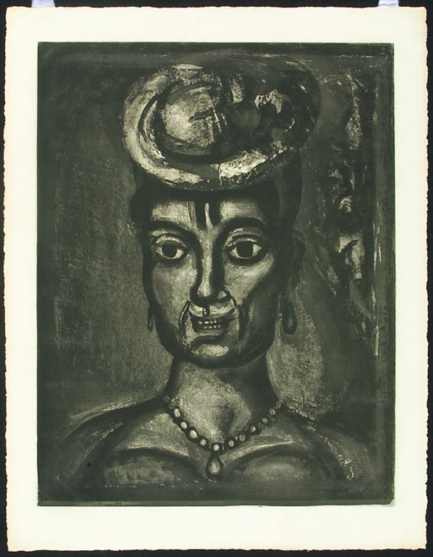 Femme Affranchie a Quatorze Heures, Chante Midi, Plate XVII from the series Miserere