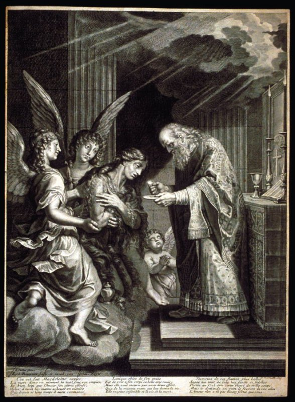 The Last Communion of St. Mary Magdalen