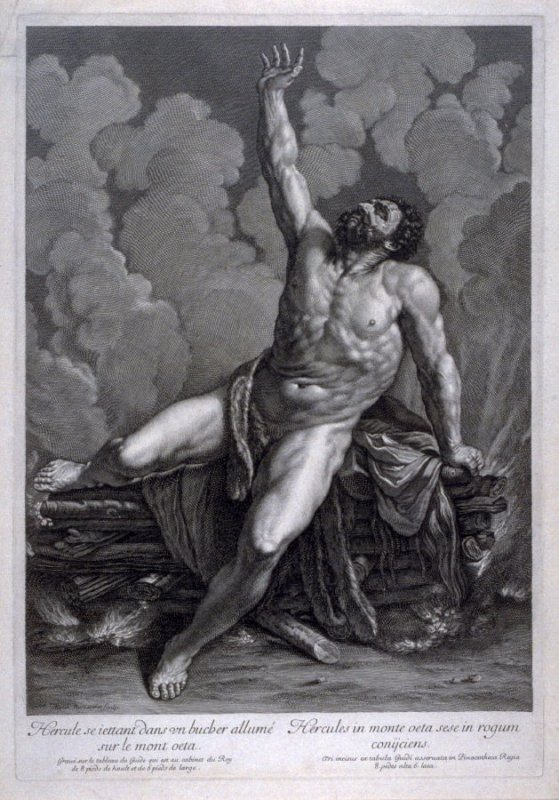 Hercules on the Pyre