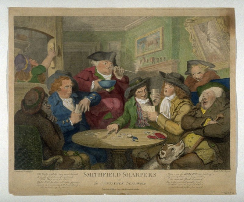 Smithfield Sharpers, or The Countrymen Defrauded