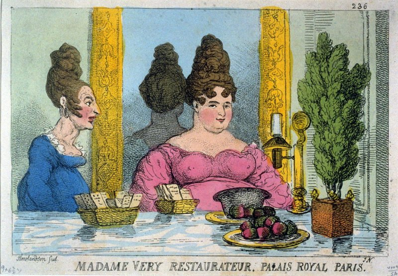 Madame Very, Restauranteur. Palais Royal Paris