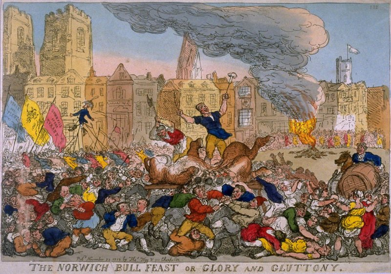 The Norwich Bull Feast or Glory and Gluttony