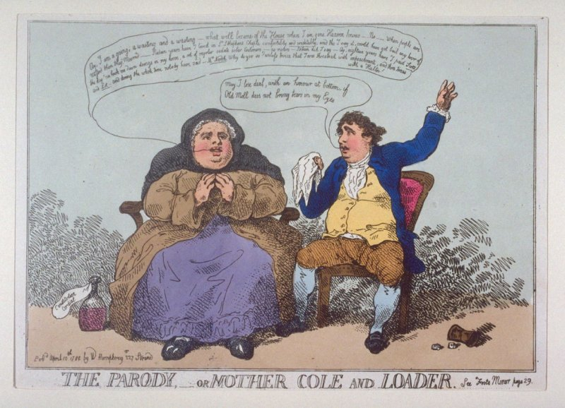The Parody, or Mother Cole and Loader