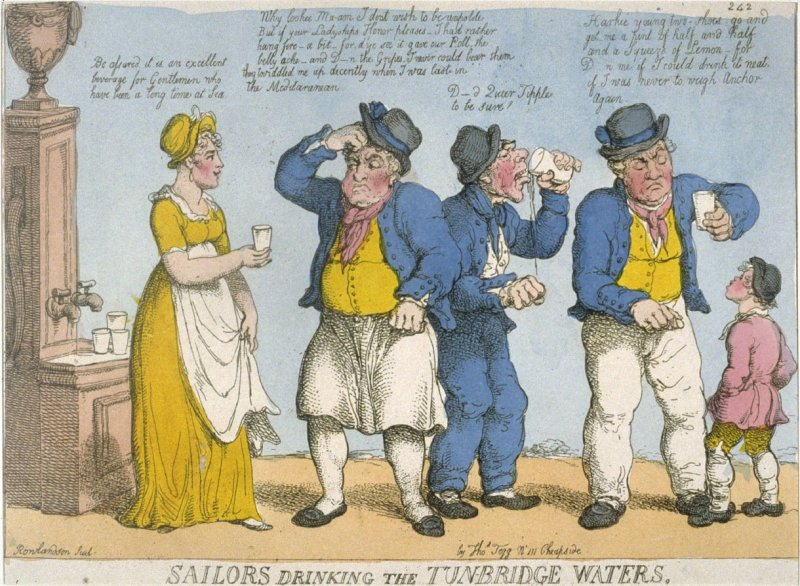 Sailors Drinking the Tunbridge Waters