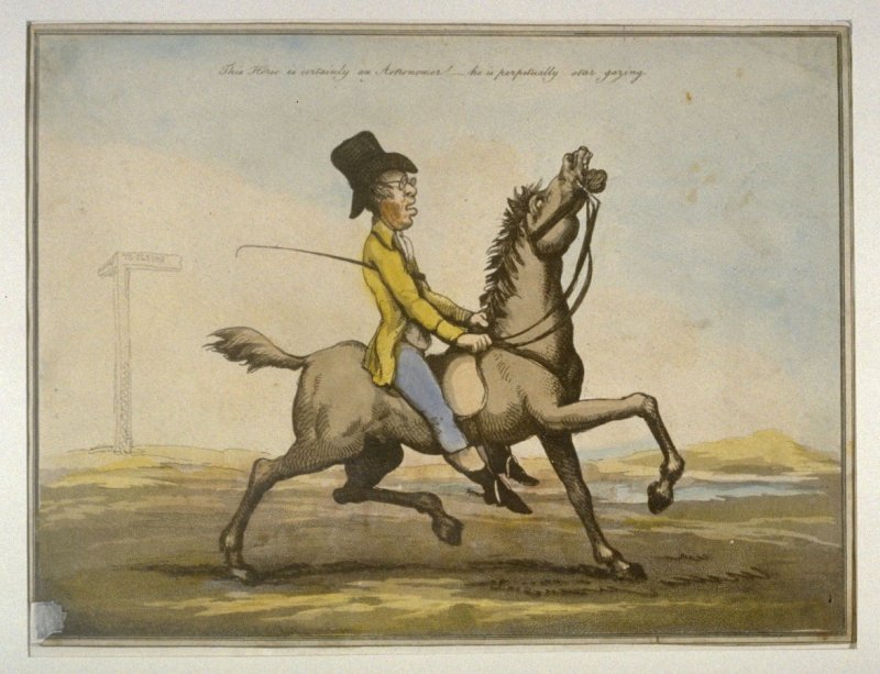 An Astronomer, from the series 'Horse Accomplishments'