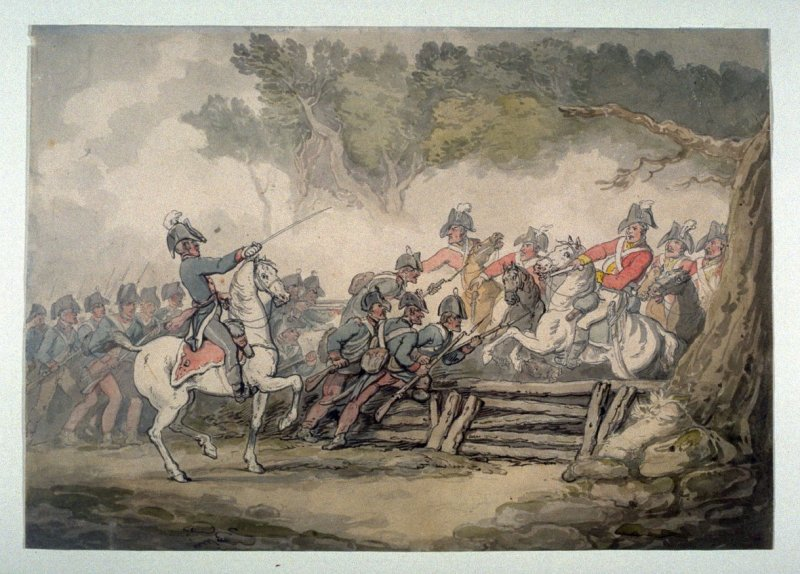 Skirmishes of Cavalry