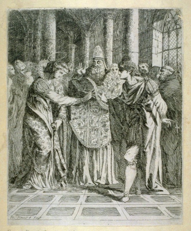 The Marriage of St. Margaret with King Malcolm