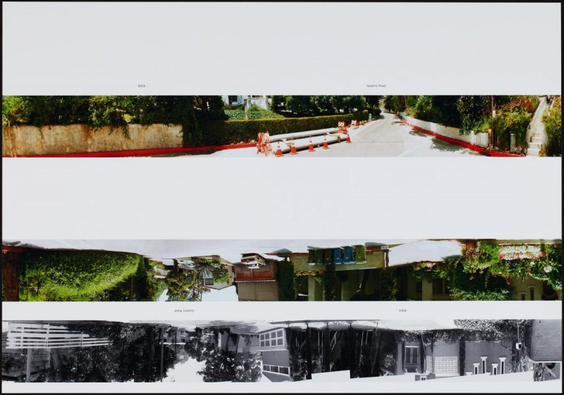 8600 - Queens Road, from the portfolio THEN & NOW: Ed Ruscha / Hollywood Boulevard / 1973-2004