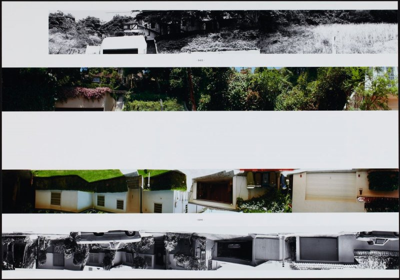8400, from the portfolio THEN & NOW: Ed Ruscha / Hollywood Boulevard / 1973-2004