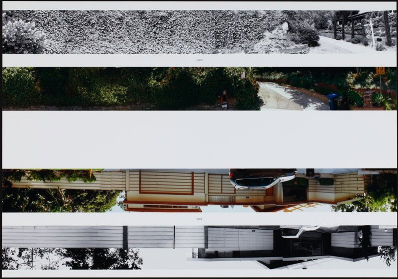 8300, from the portfolio THEN & NOW: Ed Ruscha / Hollywood Boulevard / 1973-2004