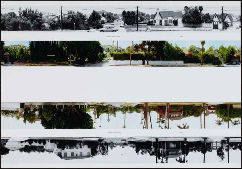 Orange Grove Avenue - 7800, from the portfolio THEN & NOW: Ed Ruscha / Hollywood Boulevard / 1973-2004