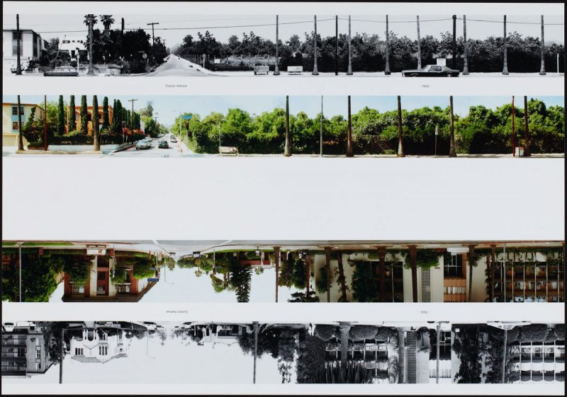 Carson Avenue - 7500, from the portfolio THEN & NOW: Ed Ruscha / Hollywood Boulevard / 1973-2004