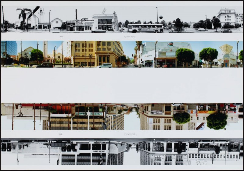 7000 - Sycamore Avenue, from the portfolio THEN & NOW: Ed Ruscha / Hollywood Boulevard / 1973-2004
