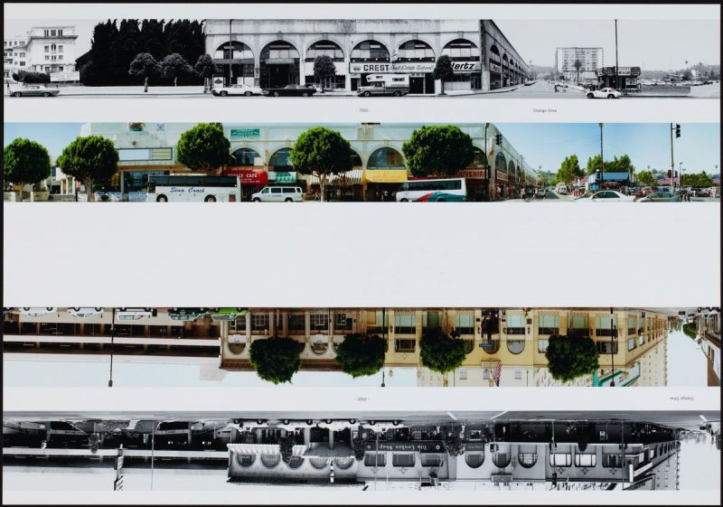 7000 - Orange Drive, from the portfolio THEN & NOW: Ed Ruscha / Hollywood Boulevard / 1973-2004