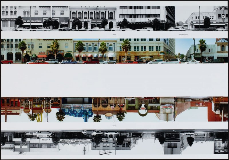 6700 - McCadden Place, from the portfolio THEN & NOW: Ed Ruscha / Hollywood Boulevard / 1973-2004