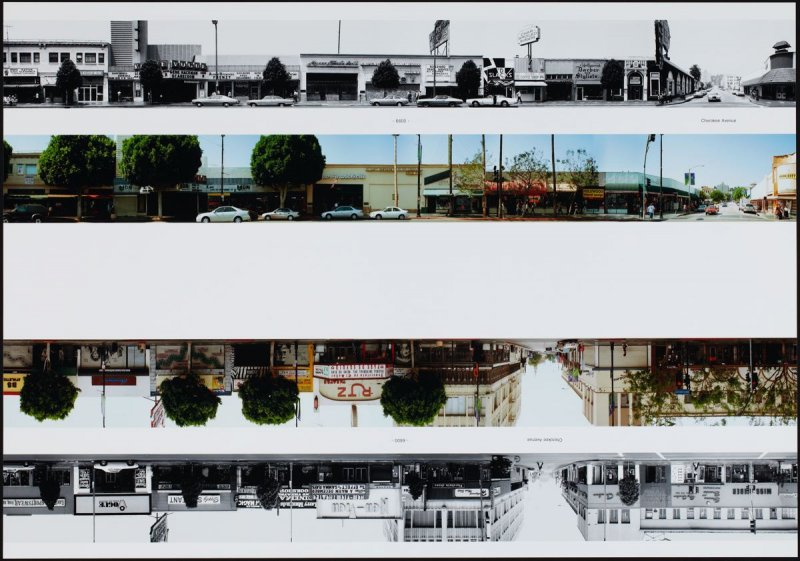 6600 - Cherokee Avenue, from the portfolio THEN & NOW: Ed Ruscha / Hollywood Boulevard / 1973-2004