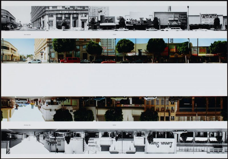 Ivar Avenue - 6300, from the portfolio THEN & NOW: Ed Ruscha / Hollywood Boulevard / 1973-2004