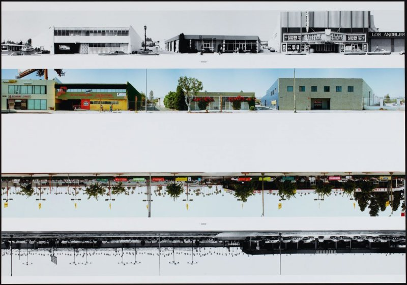 6000, from the portfolio THEN & NOW: Ed Ruscha / Hollywood Boulevard / 1973-2004