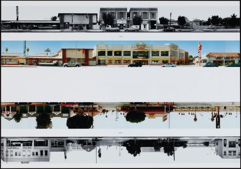 5300, from the portfolio THEN & NOW: Ed Ruscha / Hollywood Boulevard / 1973-2004
