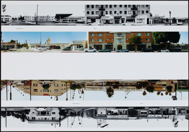 Kingsley Drive - 5100, from the portfolio THEN & NOW: Ed Ruscha / Hollywood Boulevard / 1973-2004