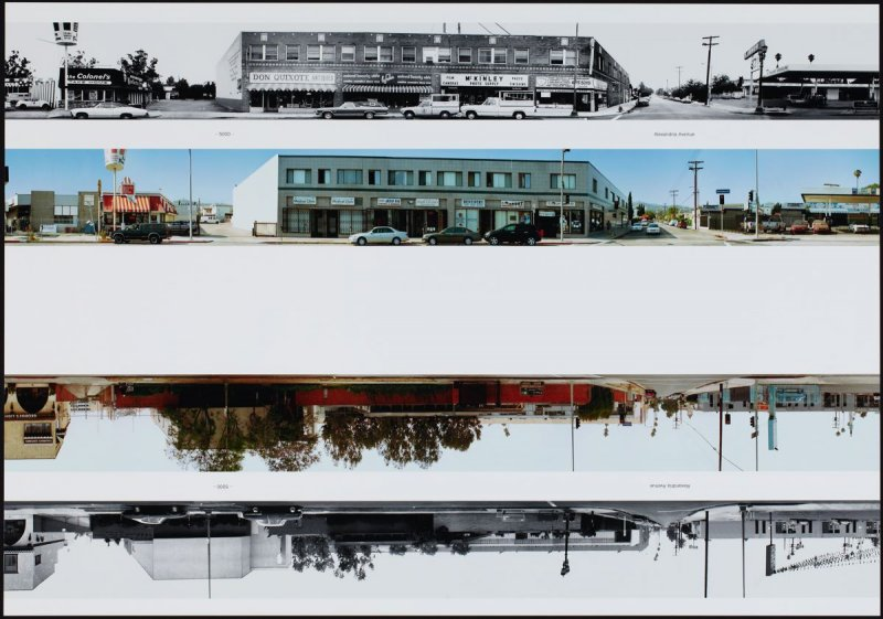 5000 - Alexandria Avenue, from the portfolio THEN & NOW: Ed Ruscha / Hollywood Boulevard / 1973-2004