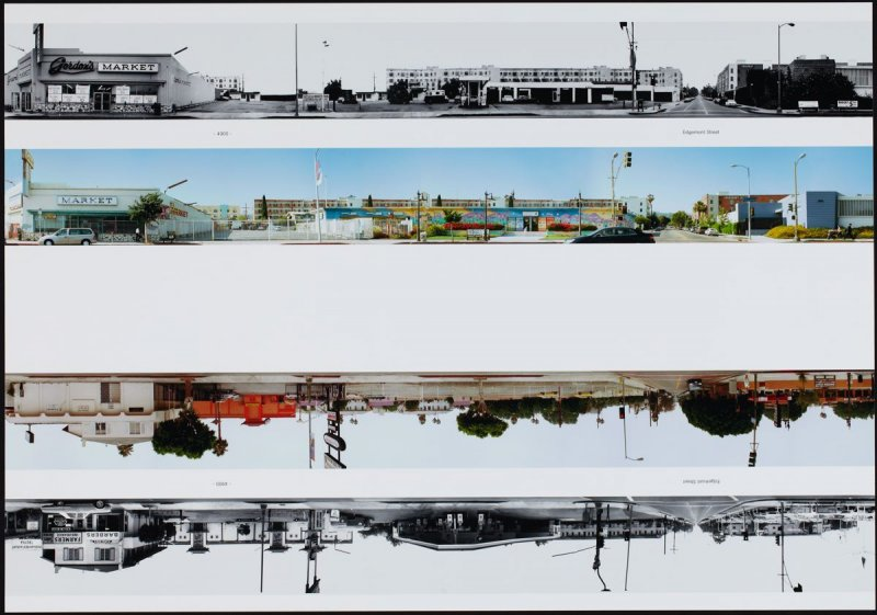 4900 - Edgemont Street, from the portfolio THEN & NOW: Ed Ruscha / Hollywood Boulevard / 1973-2004