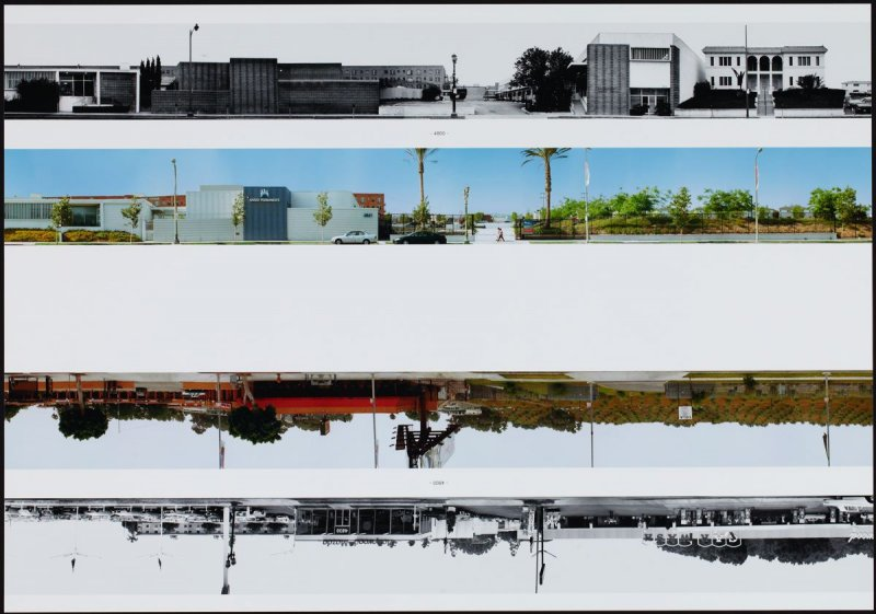4800, from the portfolio THEN & NOW: Ed Ruscha / Hollywood Boulevard / 1973-2004