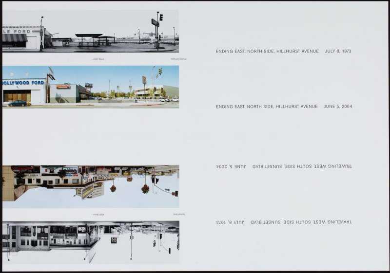 4500 - Hillhurst Avenue, from the portfolio THEN & NOW: Ed Ruscha / Hollywood Boulevard / 1973-2004