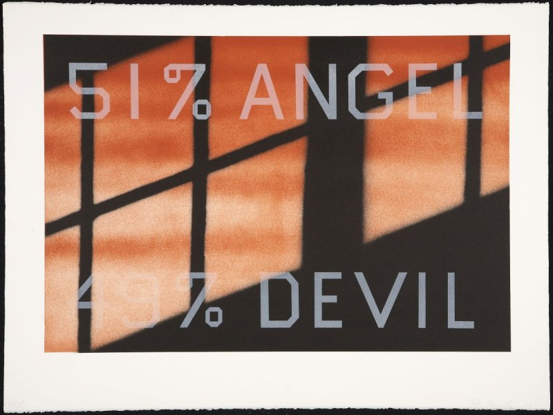 Trial Proof for 51% Angel / 49% Devil