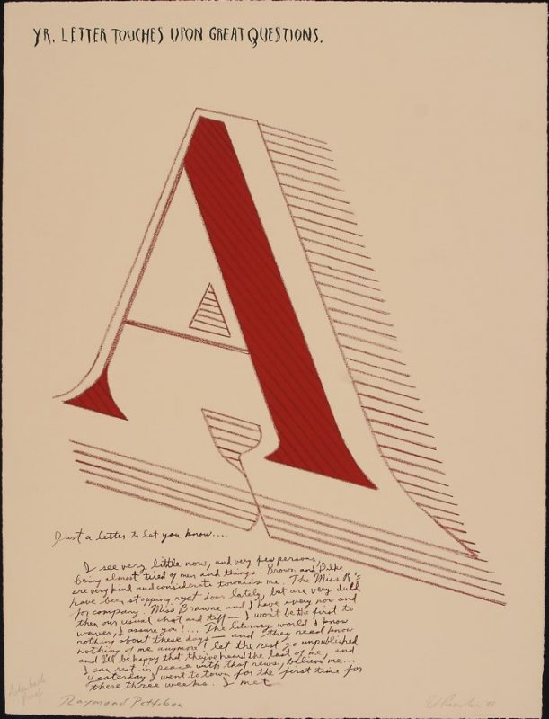 Arts & Letters, State II