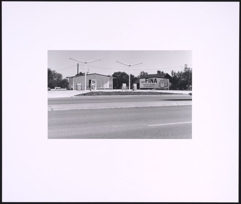Fina, Groom, Texas, from the portfolio Gasoline Stations