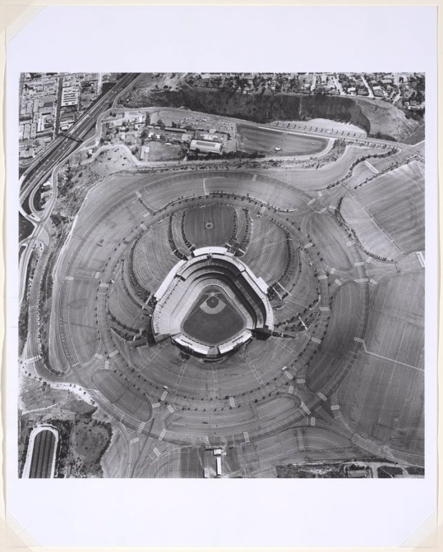 Dodgers Stadium, 1000 Elysian Park, Ave., from the Parking Lots series