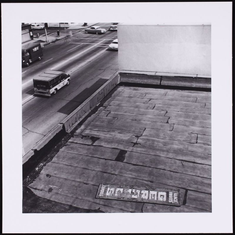 Rooftop, from the series Rooftops
