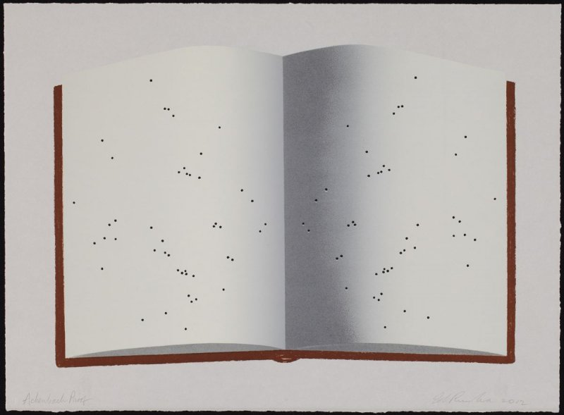 Open Book with Worm Holes