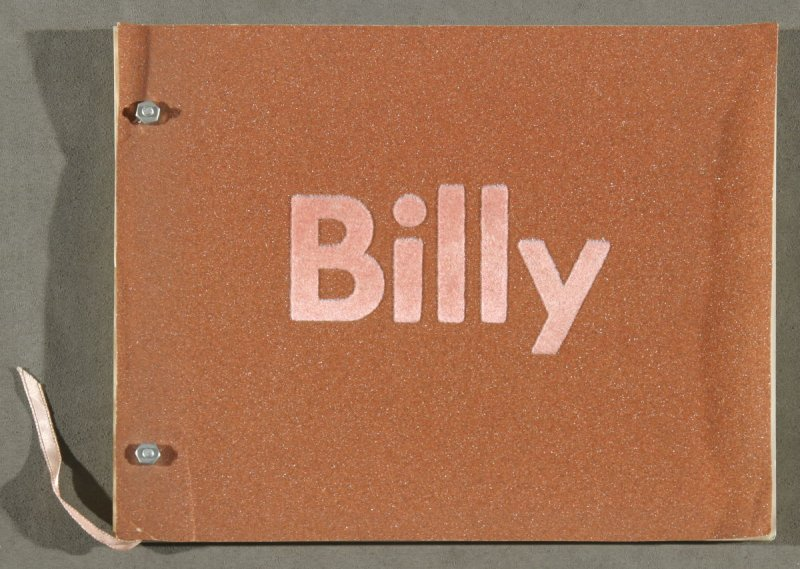Billy (Billy Al Bengston exhibition catalogue) (Los Angeles: Los Angeles Museum of Art, 1968)