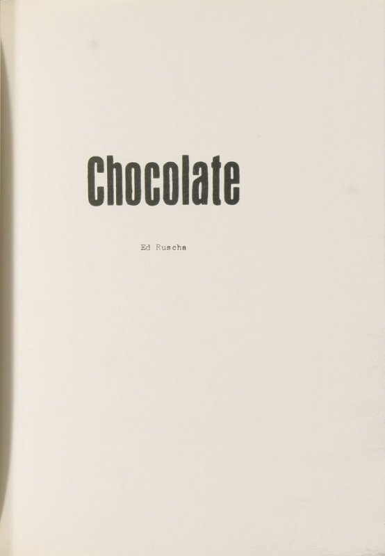 Illustration 1 in Chocolate, in the journal Assembling
