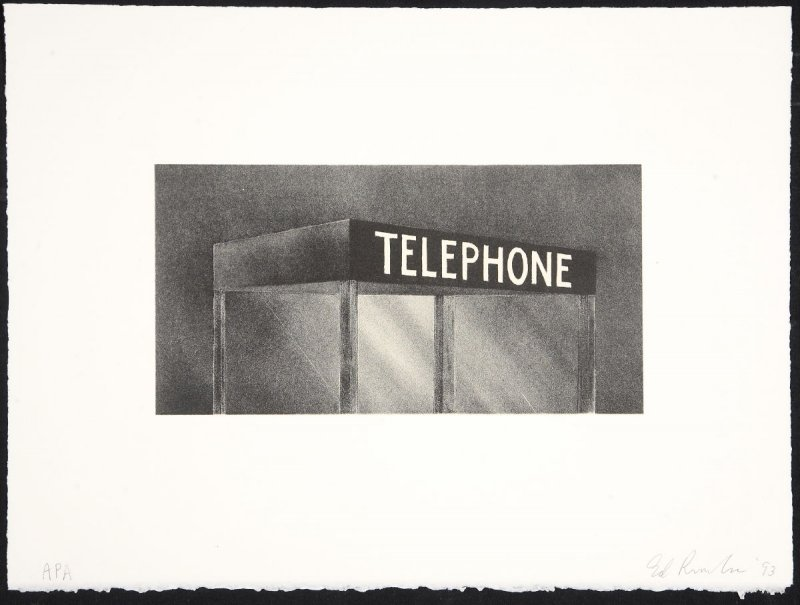 Telephone, from the Archi-Props series